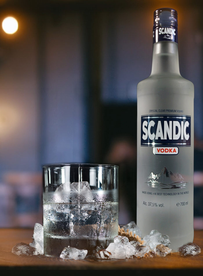 <h4>SCANDIC VODKA</h4>